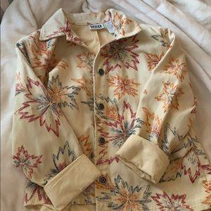 Vintage button down jean jacket